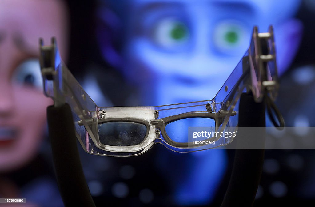 A pair of 3D glasses are displayed in the television department of a Sears Holdings Corp. store in Jersey City, New Jersey, U.S., on Tuesday, Jan. 24, 2012. The U.S Census Bureau is scheduled to release durable goods data on Jan. 26. Photographer: Victor J. Blue/Bloomberg via Getty Images