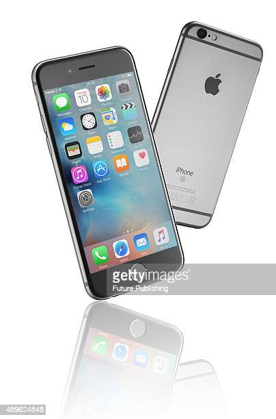 A pair of Apple iPhone 6S smartphones taken on September 14 2015