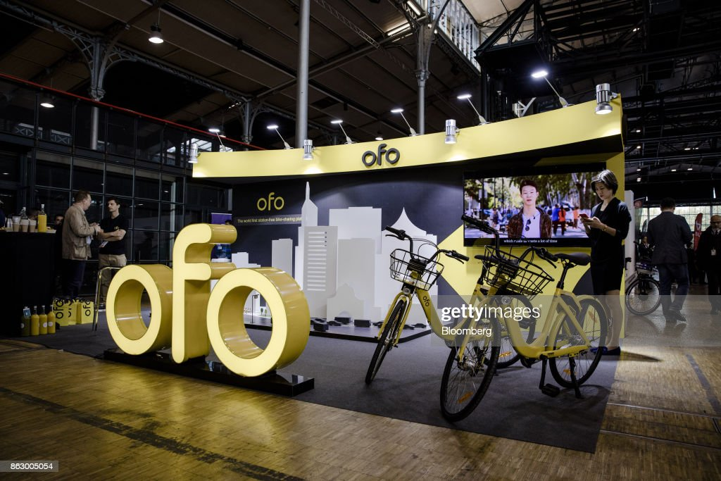 Ofo Inc. Hire Bicycles On Show At Urban Mobility Summit Ahead Of Paris Launch