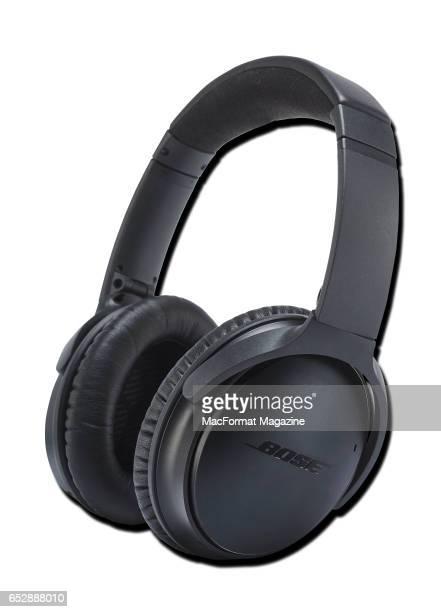 A pair of Bose QuietComfort 35 headphones taken on August 23 2016