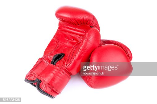 pair of boxing gloves : Stock Photo