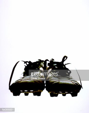 A pair of cleats