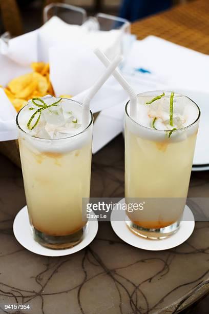 A pair of Mango Mojitos