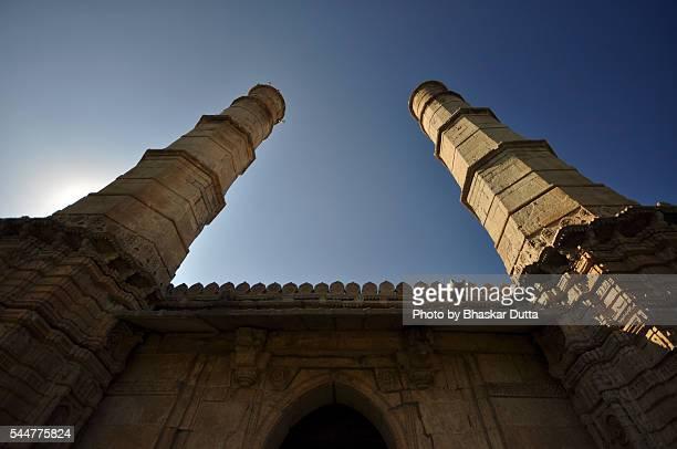 A pair of Minars at Juma Masjid