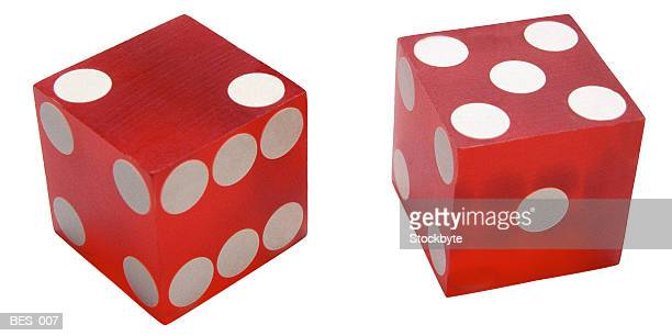 Pair of red dice