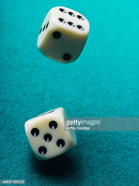 Pair of Rolling Dice
