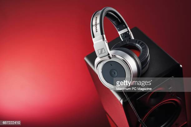 A pair of Sennheiser HD 630VB headphones taken on July 7 2016