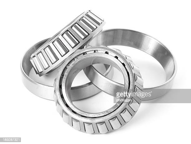 Paire de roue roulements et anneaux