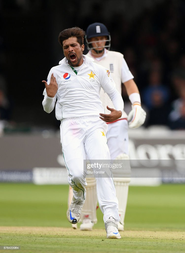 England v Pakistan: 1st Investec Test - Day Two