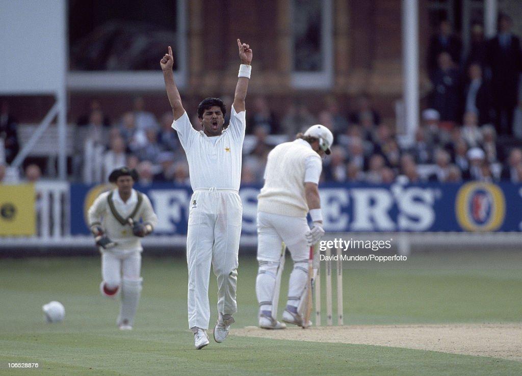 2nd Test Match  -  England v Pakistan : News Photo