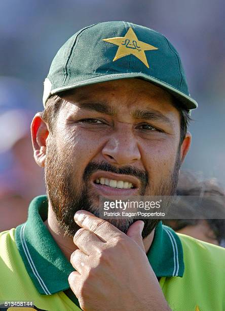 Pakistan captain InzamamulHaq after the NatWest Series One Day International between England and Pakistan at Edgbaston Birmingham 10th September 2006...