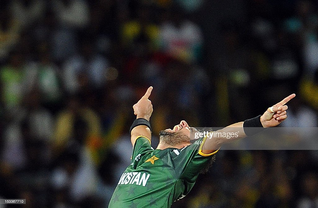 CRICKET-ICC-WORLD-T20-SEMI FINAL1-SRI-PAK : News Photo