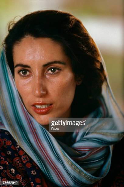 Pakistan People's Party candidate Benazir Bhutto launches her election campaign against current President General Muhammad ZiaulHaq for the position...