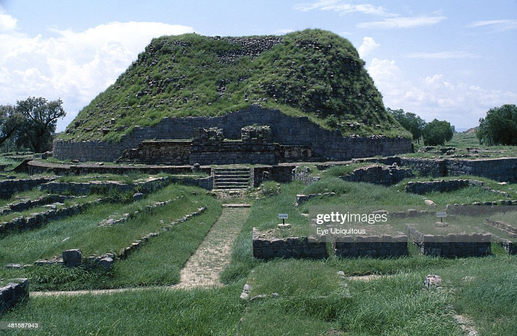 Pakistan Punjab Taxila Sirkap shrine of two headed eagle ruined remains
