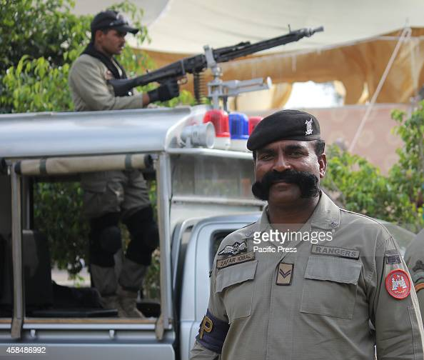 Pakistan security forces stand high alert after the incident of Wagah border in Lahore A suicide bomber killed at least 60 people on November 2 at...