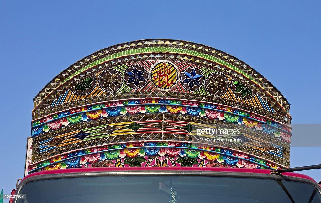 Pakistan Truck art : Stock Photo