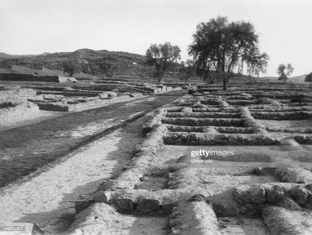 Ruins of Taxila 1962