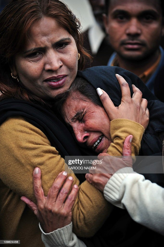 Pakistani Christian women mourn the death of minorities minister Shahbaz Bhatti in Islamabad on March 2 2011 Gunmen shot dead the Catholic Pakistani...