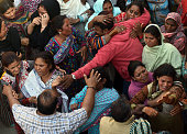 Pakistani Christians mourn the death of a blast victim of the March 27 suicide bombing in Lahore on March 28 2016 Pakistan's army launched raids and...
