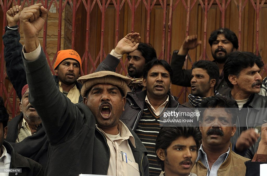 Pakistani Christians protest against the killing of slain Pakistani minorities minister Shahbaz Bhatti in Quetta on March 2 2011 Gunmen shot dead a...
