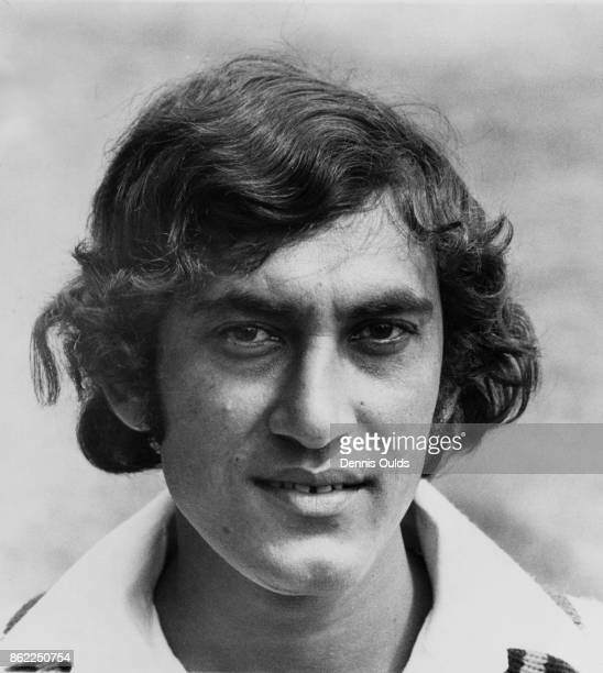 Pakistani cricketer Aftab Baloch during his team's UK tour June 1974