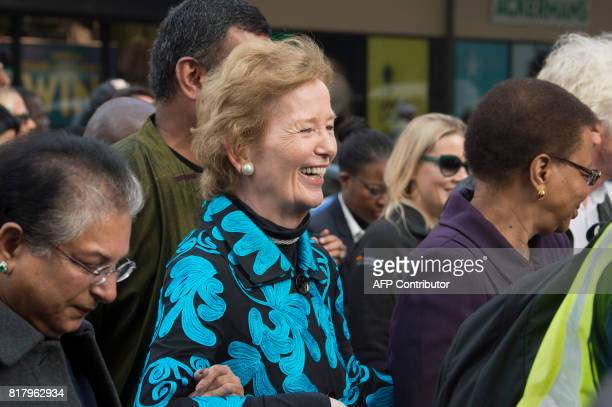 Pakistani human rights activist Asma Jahangir former Irish President Mary Robinson and former Minister of Education and Culture in Mozambique...