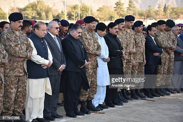 Pakistani Prime Minister Nawaz Sharif Chief of Amry Staff General Raheel Sharif Pakistani Interior Minister Nisar Ali Khan Chief Minister Balochistan...