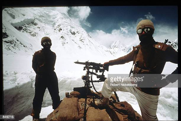Pakistani soldiers stand June 1989 in Kashmir near the PakistanIndia border India and Pakistan have fought three wars over ownership of Kashmir none...