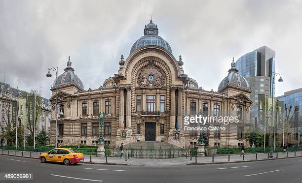 CEC Palace at Bucharest Romania