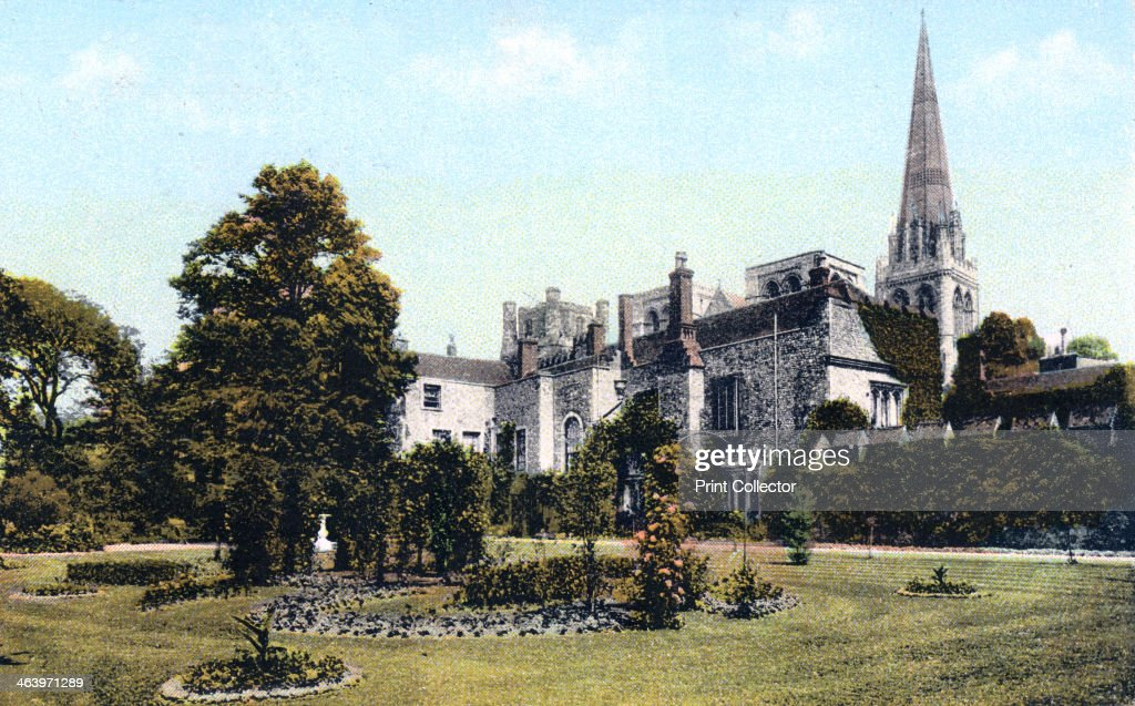 Palace Gardens Chichester c1900sc1920s