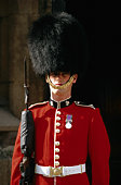 Palace guard, London, England