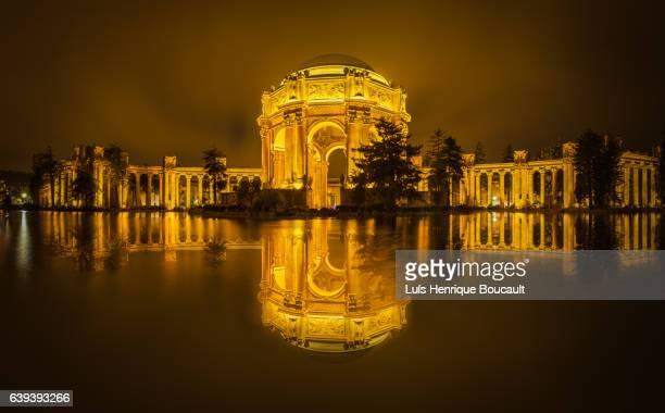 Palace of Fine Arts & Golden Sky