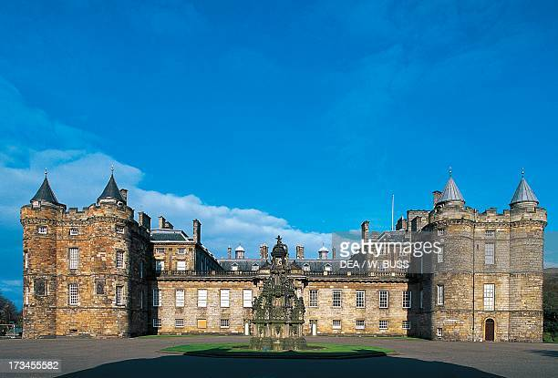 Palace of Holyroodhouse Edinburgh Scotland United Kingdom