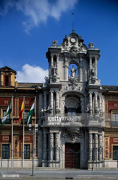 Palace of San Telmo Seville Andalusia Spain 18th century