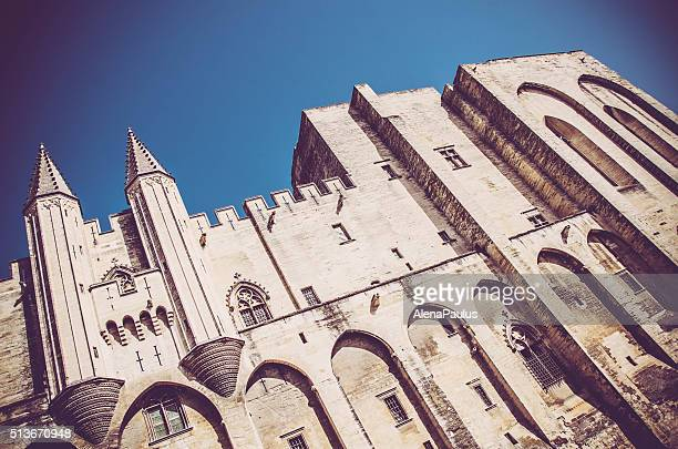 Palace of the Popes (Palais des Papes) in Avignon, France