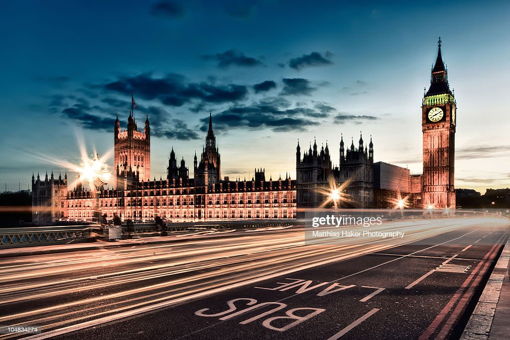 Palace of Westminster and Big Ben : Stock Photo