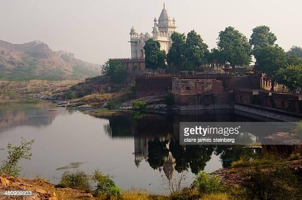Palace on Lake near Udaipur India