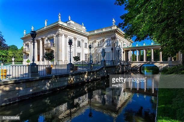Palacio en el agua, Varsovia, Polonia