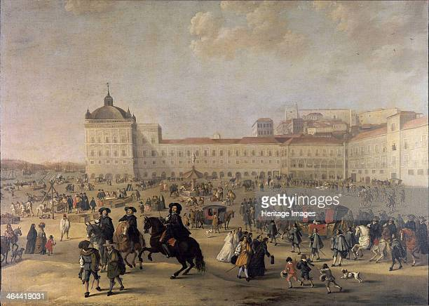 Palace Square of Lisbon 1650 Found in the collection of the Museu Nacional de Arte Antiga Lisbon