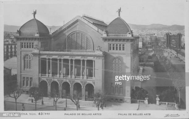 Palacio de Bellas Artes Barcelona Spain circa 1950