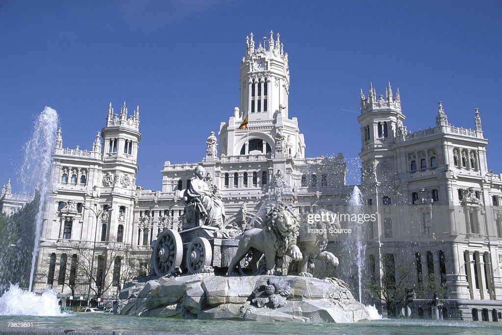 Palacio de Comunicaciones, Madrid, Spain : Stock Photo