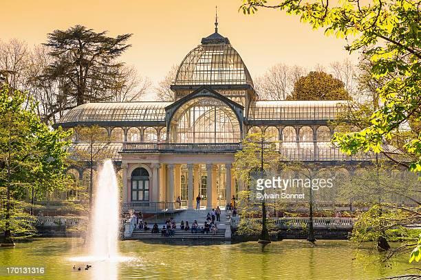 Palacio de Cristal in Parque del Buen Retiro.