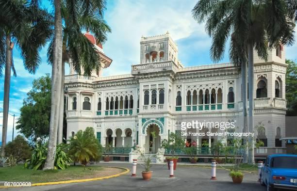 Palacio de Valle facade in Punta Gorda, Cienfuegos, Cuba