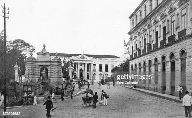 Palacio do Governo' 1895 From Sao Paulo by Gustavo Koenigswald [S Paulo 1895] Artist Wilhelm Gaensly Rudolf Friedrich Fra