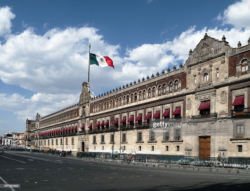 メキシコシティパラシオナシオナル、 : ストックフォト