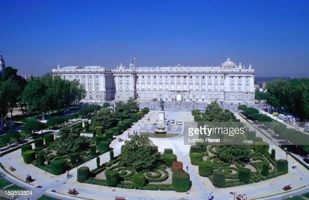 Palacio Real in Plaza de Oriente, Centro.