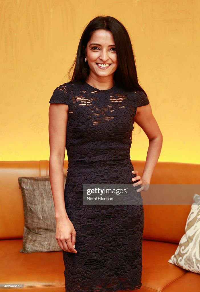 Palak Patel attends Natalie Zfat's Brunch at Clement Restaurant in the Peninsula Hotel on July 20, 2014 in New York City.