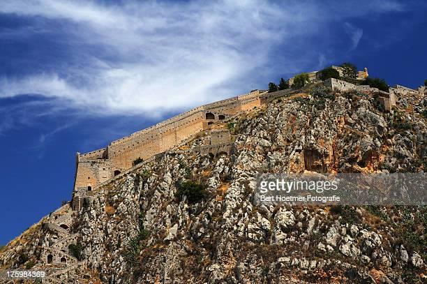 Palamidi fortress: stairway  & Andreos bastion