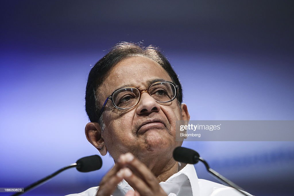 Palaniappan Chidambaram India's finance minister speaks at the Annual Bankers' Conference in Mumbai India on Friday Nov 15 2013 Chidambaram said new...