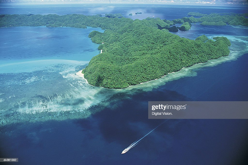 Palau, Caroline Islands, West Pacific Ocean : Stock Photo